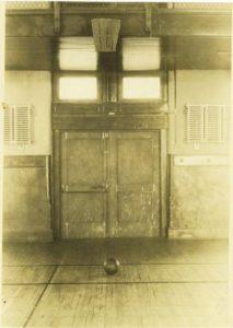 初期のバスケのゴール