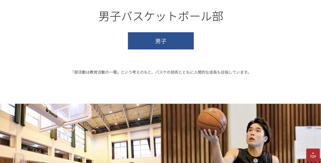 九州産業大学附属九州バスケットボール部