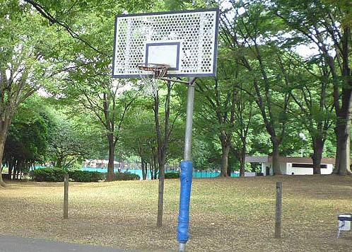 赤塚公園のゴール