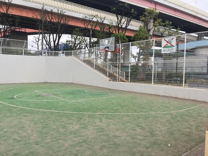 川端第二公園ゴール