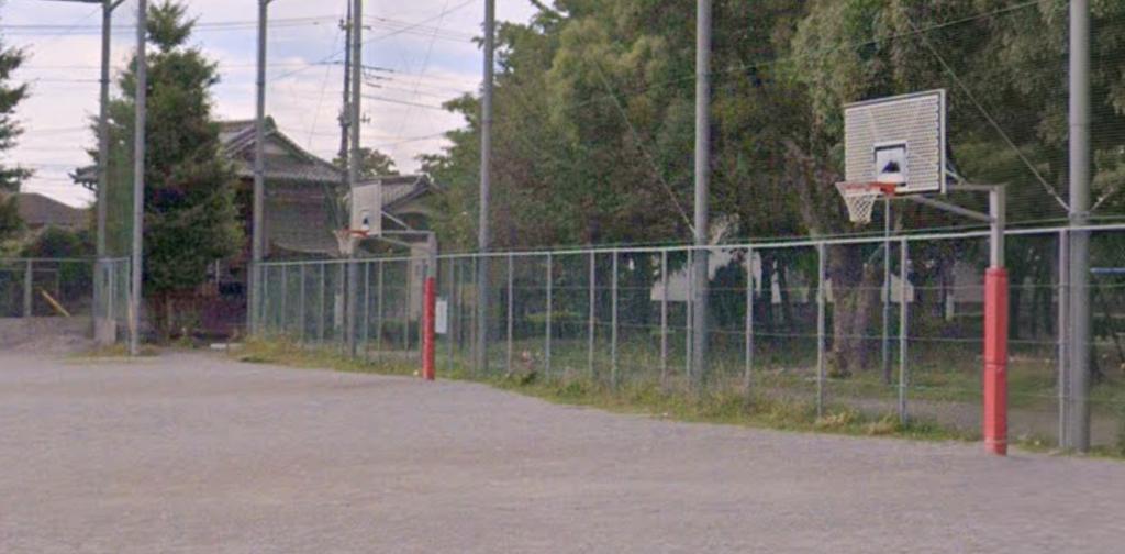 北鹿浜公園ゴール