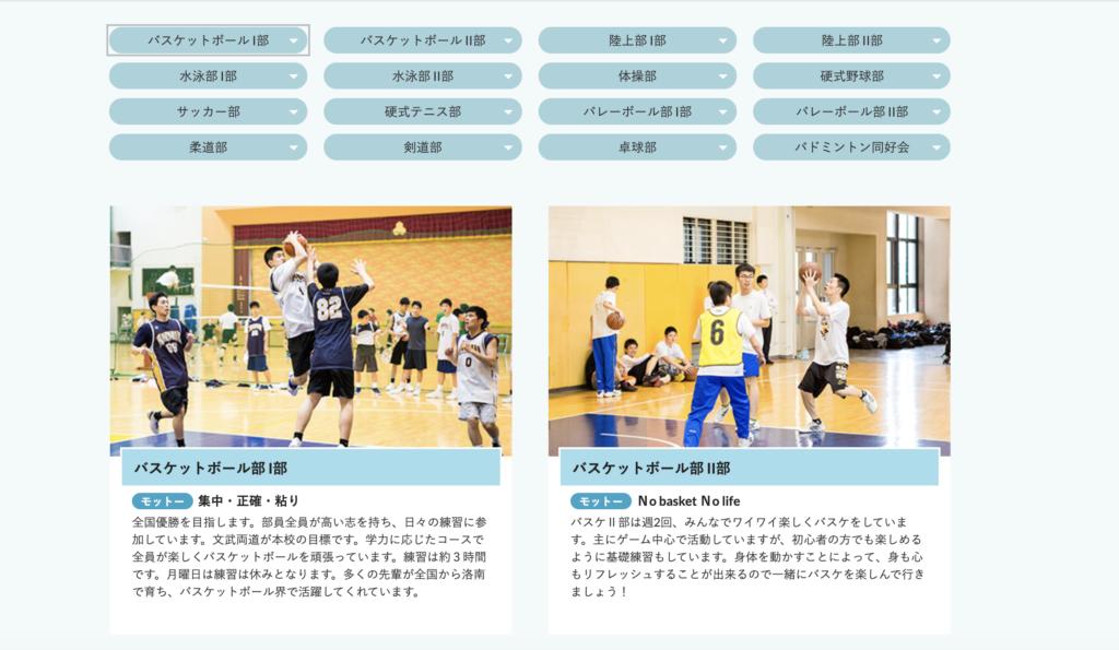 洛南バスケットボール部