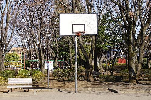 めじろ台南公園バスケットゴール
