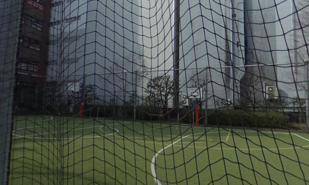 小川広場バスケットゴール