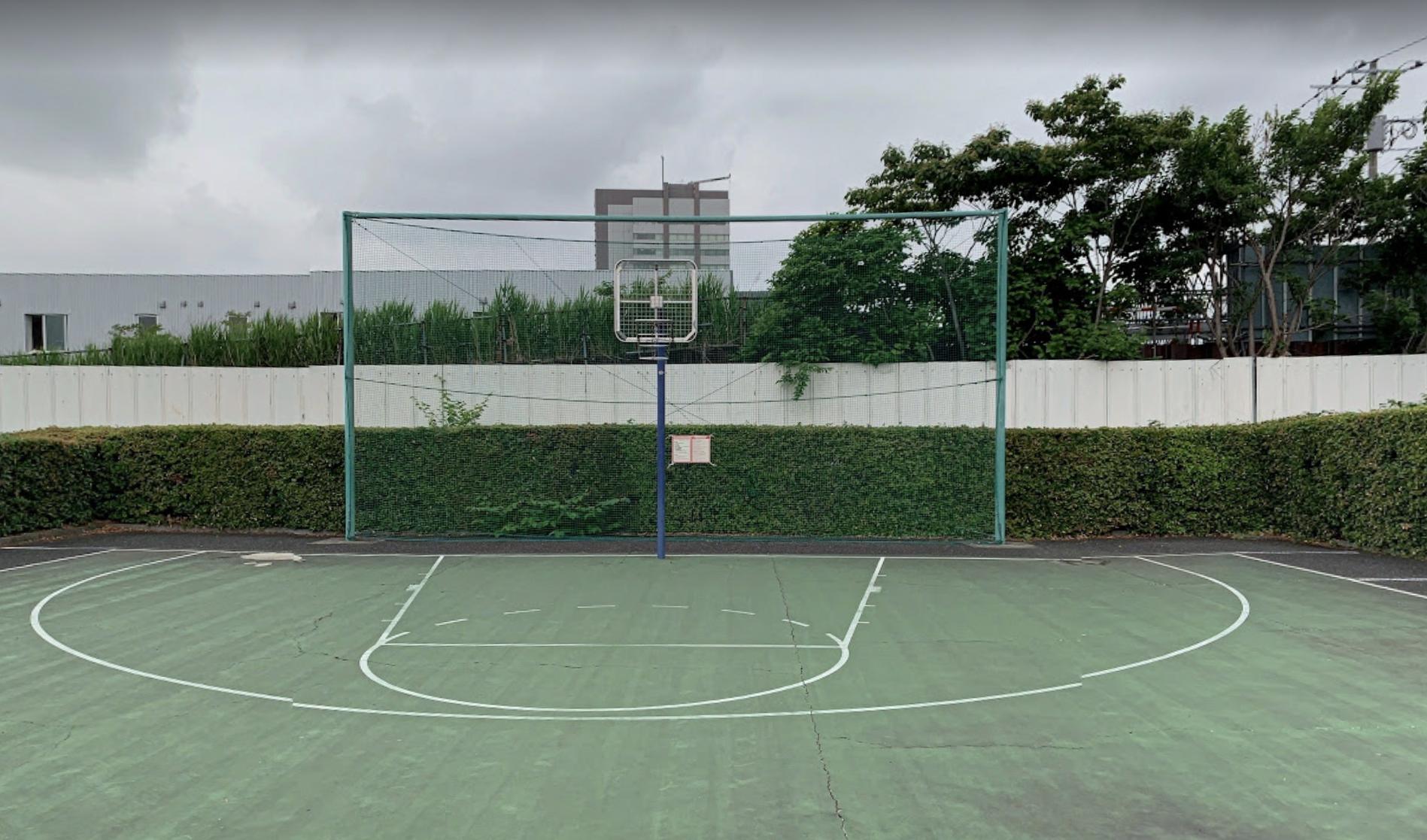 東尾久運動場バスケットゴール