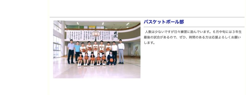 若松商業バスケットボール部