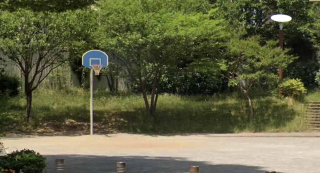 やまざくら公園バスケットゴール