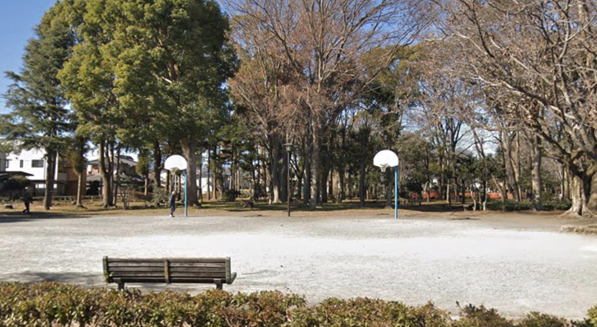 わかぐさ公園バスケットゴール