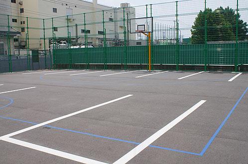 沼影公園バスケットゴール