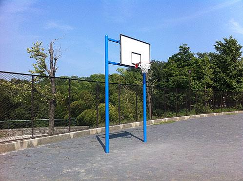 片倉自然公園バスケットゴール