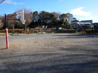 長坂谷公園バスケットゴール