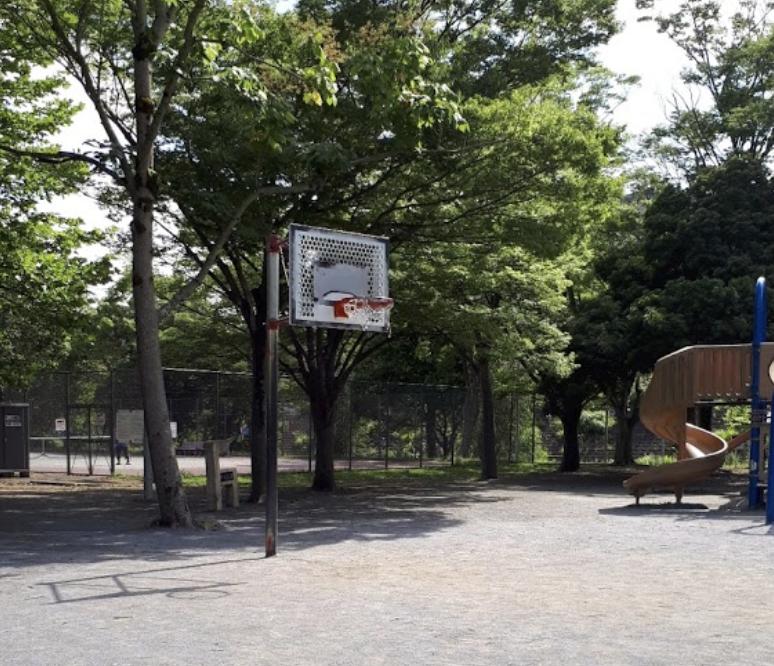 加曽利じゅん菜池公園バスケットゴール