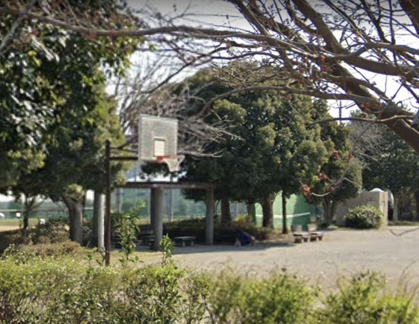 愛生町公園バスケットゴール