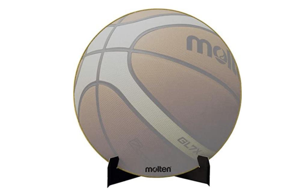 バスケットボールの色紙
