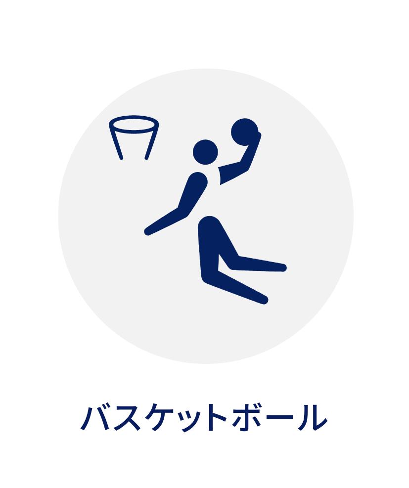 東京オリンピックバスケロゴ